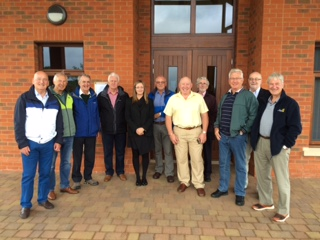 Northwich Vale Royal Rotary Club visit Vale Royal Crematoium